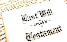 Legal assistance last will